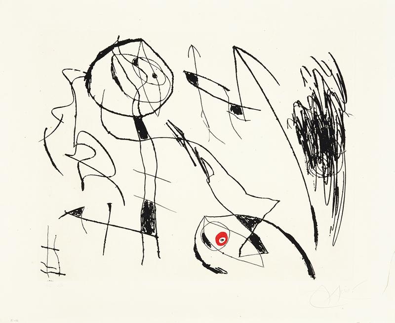 Joan MIRO - Print-Multiple - Serie Mallorca I
