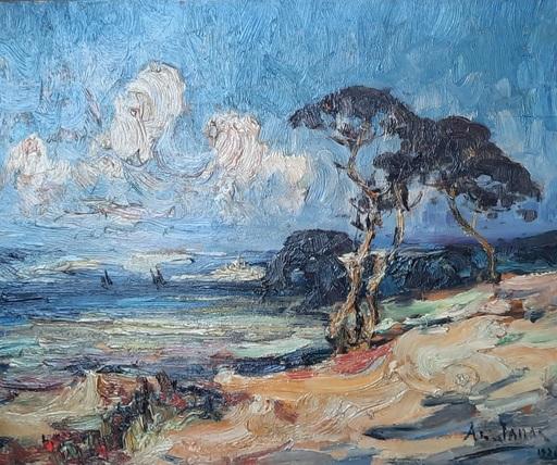 Armand G. G. JAMAR - Peinture - La Côte d'Azur