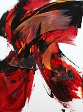 Jean SOYER - Pintura - LE SAMOURAÏ