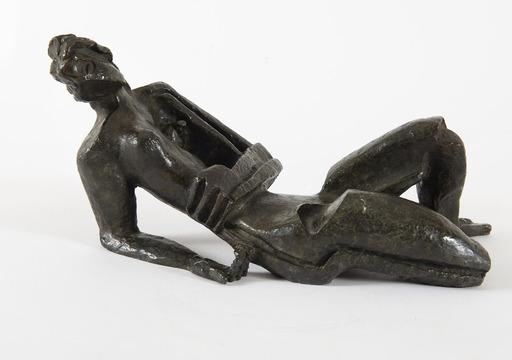 Ossip ZADKINE - Sculpture-Volume - Femme allongée