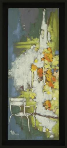Anne Christine WELLENSTEIN - Peinture - Petit coin fleuri
