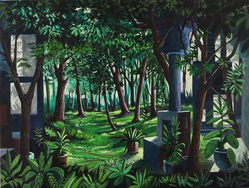Nicola Felice TORCOLI - Gemälde - Giungla post industriale