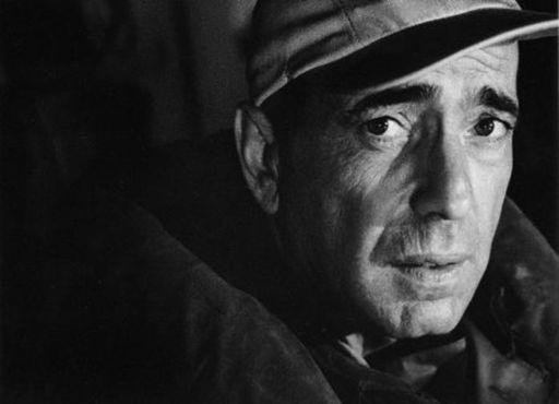 Bob WILLOUGHBY - Grabado - Humphrey Bogart – head