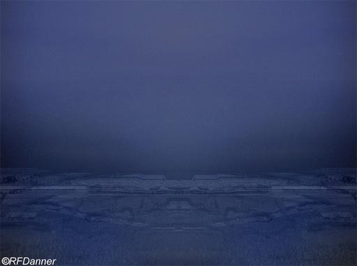 Roland Friedrich DANNER - Painting - Landing