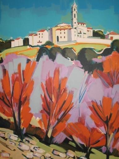 Jean-Claude QUILICI - 版画 - Soveria,Corse,1987.