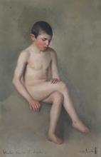 Pacifico SIDOLI - Pintura - Fanciullo