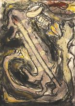 Sigfried KADEN - Painting - Ohne , 1984