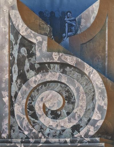 Lazaro Roberto DOMINGUEZ PRUNEDA - Pintura - Vibration de una idea