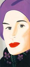 亚历克斯·卡茨 - 版画 - Purple Hat (Ada)