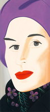 Alex KATZ - Estampe-Multiple - Purple Hat (Ada)