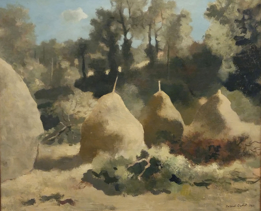 Roland OUDOT - Peinture - paysage