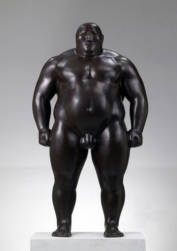 SHEN Hongbiao - Escultura - Mongolian standing