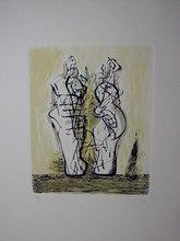 亨利•摩尔 - 版画 - Cinque incisioni di Henry Moore