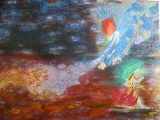 ATCHAMA - Painting - Puissance de l Ange