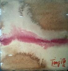 T'ANG Haywen - Painting - Sans titre