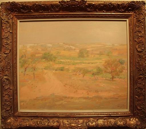 Julián GRAU SANTOS - Pintura - Tierras de Aranda de Duero