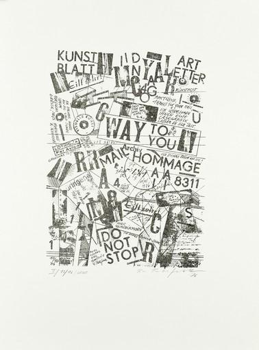 Ruth WOLF-REHFELDT - Grabado - Kunst Blatt