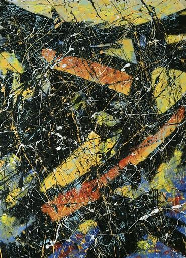 Jean-Jacques MARIE - Gemälde - Composition A406