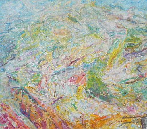 David AZUZ - Gemälde - La Sainte Baume