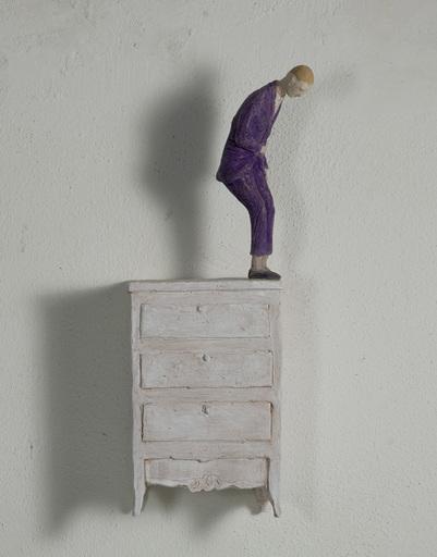 Pino DEODATO - Sculpture-Volume - Suicidio domestico