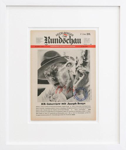 Joseph BEUYS - Grabado - Heidelberger Rundschau