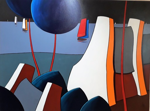 Gérard NEYB - Peinture - Pen Marie