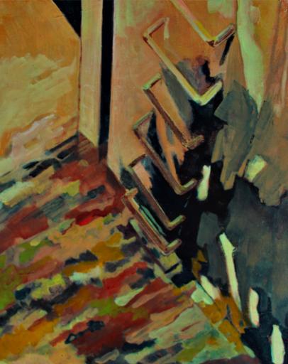 Aude MOUILLOT - Painting - « Focus Etang #2 »