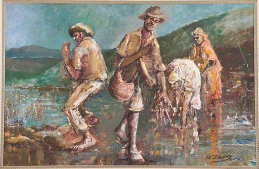 Epifanio IRIZARRY JUSINO - Gemälde - CAMARONES