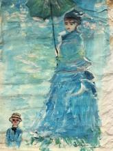 Jacqueline GAINON - Peinture - mère et enfant