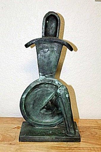 Alexander ARCHIPENKO - Escultura - SEATED GEOMETRIC FIGURE