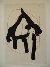 "Robert MOTHERWELL (1915-1991) - ""Beau Geste I"" 1989"