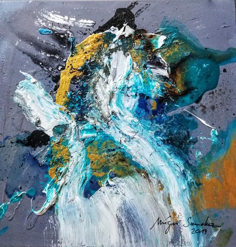 Mégui SANCHEZ - Painting - XTP56