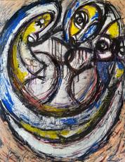 Vesna KRSMANOVIC - Pintura - Sisters    (Cat N° 5071)