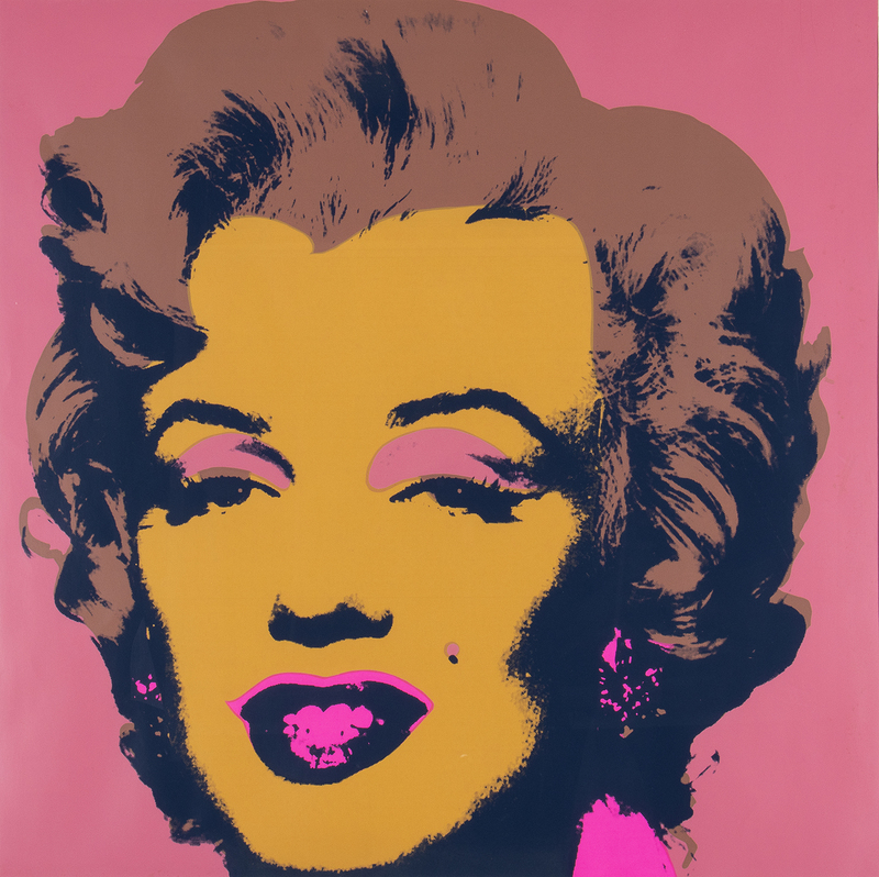 安迪·沃霍尔 - 版画 - Marilyn Sunday B. Morning