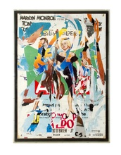 Mimmo ROTELLA - Painting - Mitica Marylin