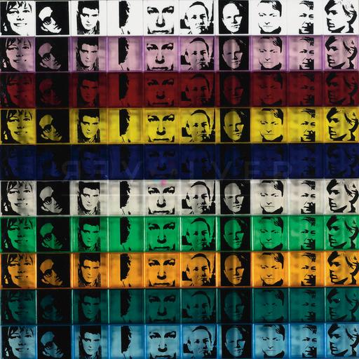 Andy WARHOL - Print-Multiple - Portraits of the Artists (FS II.17)