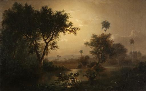 Esteban CHARTRAND - Pintura - La Noche