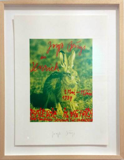 Joseph BEUYS - Print-Multiple - Der Hase in Ilverich
