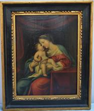 Jacques STELLA (1596-1657) - Vierge à l'Enfant.