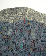 Antonio SEGUI - Peinture - Reflexion hecha