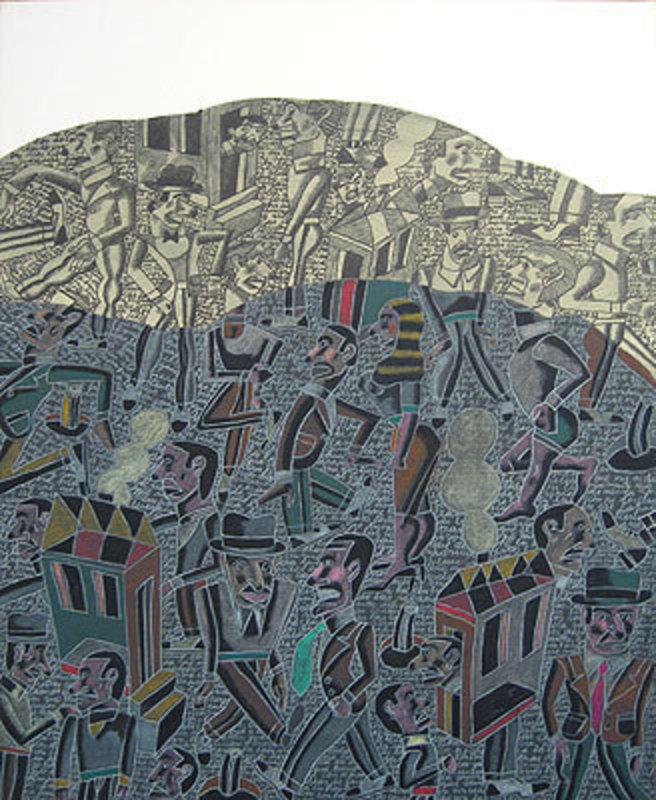 Antonio SEGUI - Painting - Reflexion hecha
