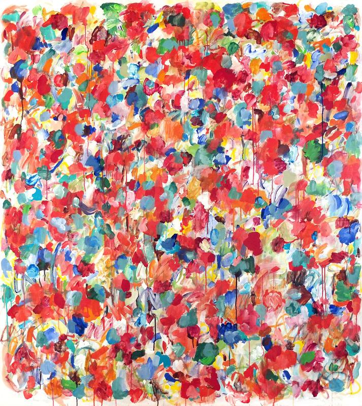 Claudie LAKS - Painting - DANAE