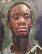 Maud GERARD - Painting - African man