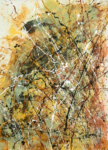 Jean-Jacques MARIE - Gemälde - Abstraction lyrique Composition n°421