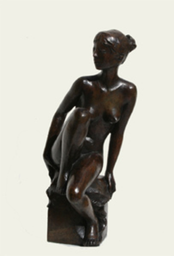 Jacques COQUILLAY - Escultura - Camille