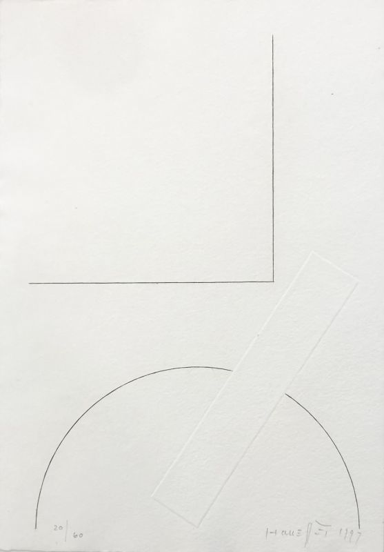 Gottfried HONEGGER - Print-Multiple - Sans titre