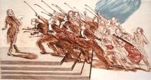Claude WEISBUCH - Grabado - Le serment des violonistes