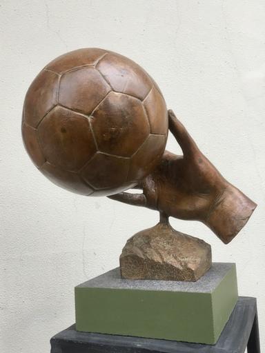 Viktor Ivanovich KORNEEV - Skulptur Volumen - Soccer 2