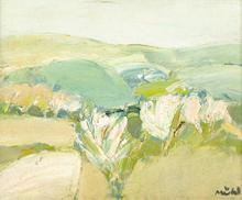 Roger MÜHL - Pintura - Arbres en fleurs