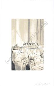 吕克•图伊曼斯 - 版画 - Egypt 2003